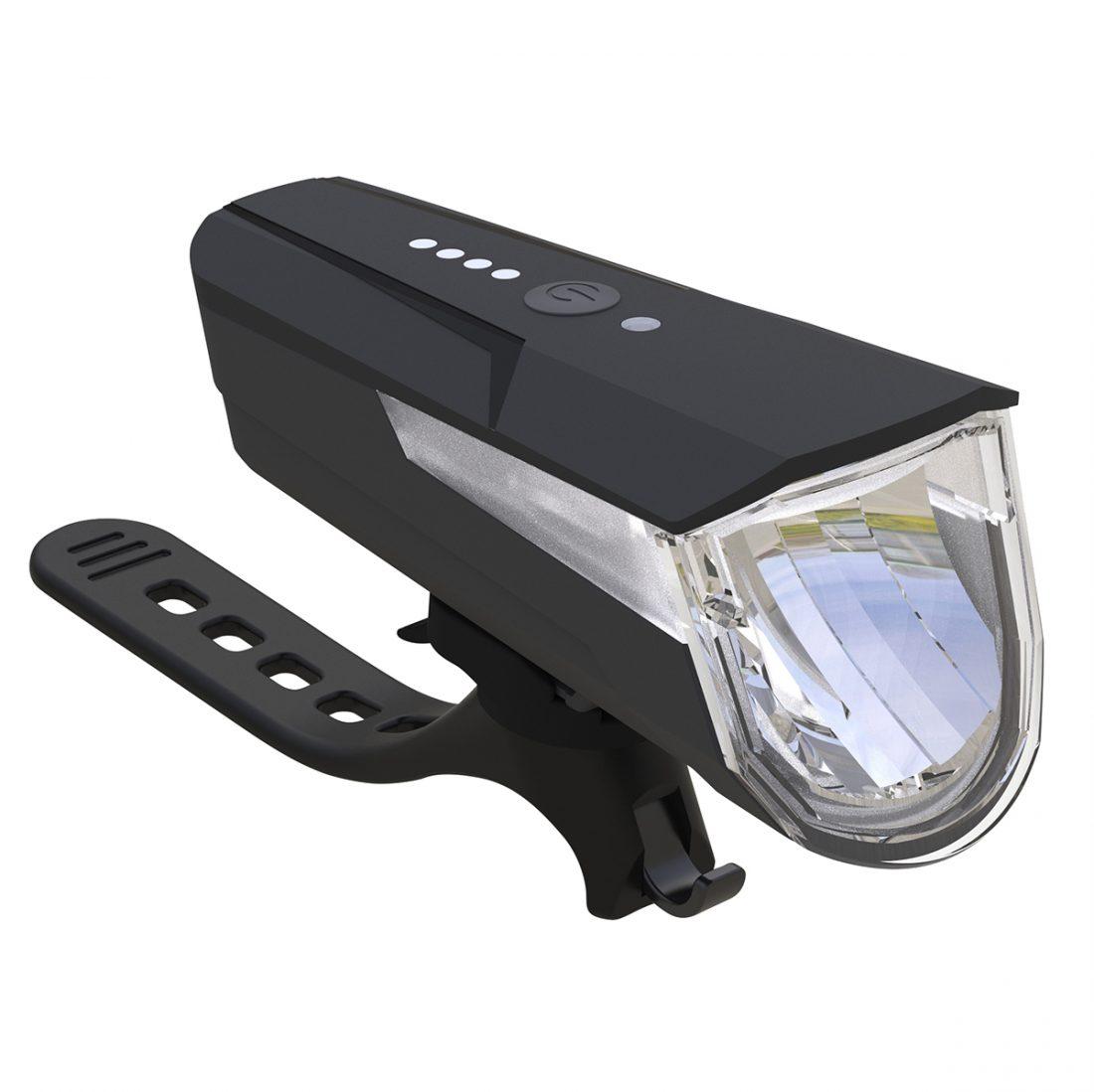 Büchel Micro Lens LED Rückleuchte mit Bremsanzeigefunktion,Akku,StVZO zugelassen